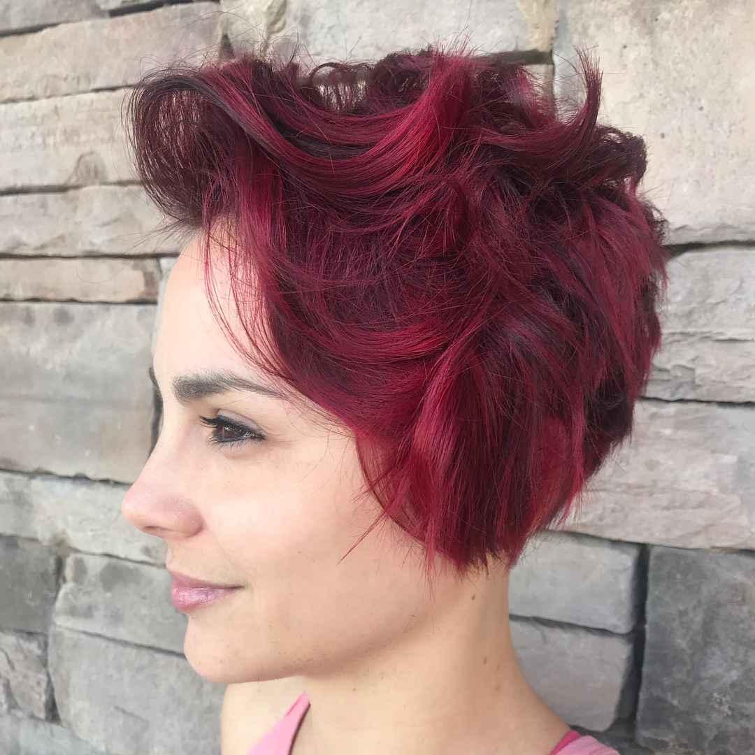 Стрижка пикси на кудрявые и волнистые волосы фото_24
