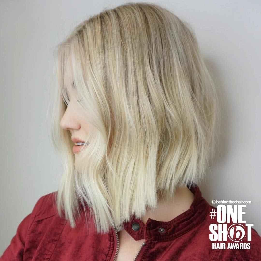 Стрижка каре для блондинки фото_1
