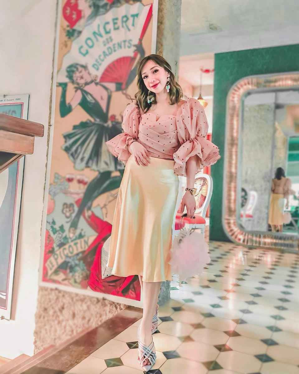 Шелковая юбка 2020 фото_16