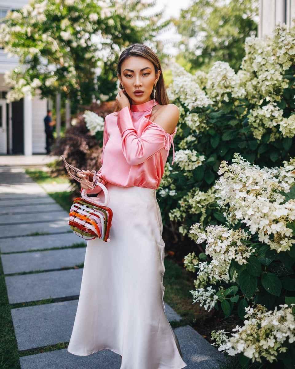 Шелковая юбка 2020 фото_43