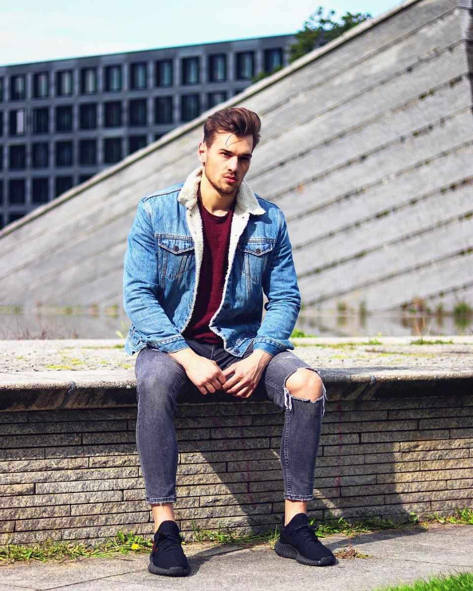 С чем носить джинсовую куртку мужчинам фото_41