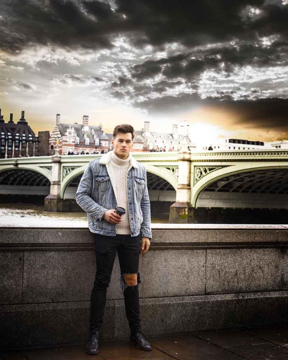 С чем носить джинсовую куртку мужчинам фото_37