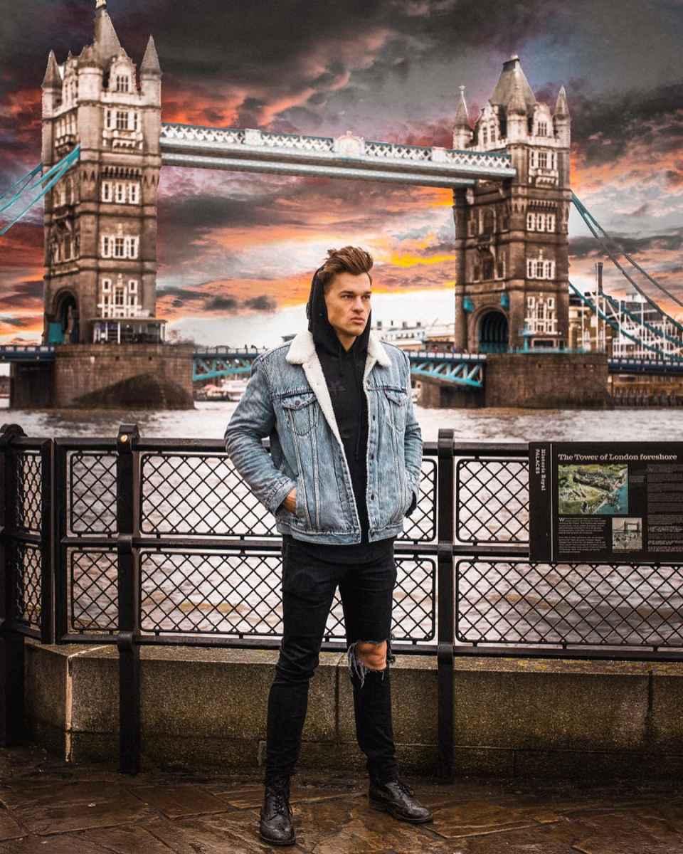 С чем носить джинсовую куртку мужчинам фото_36