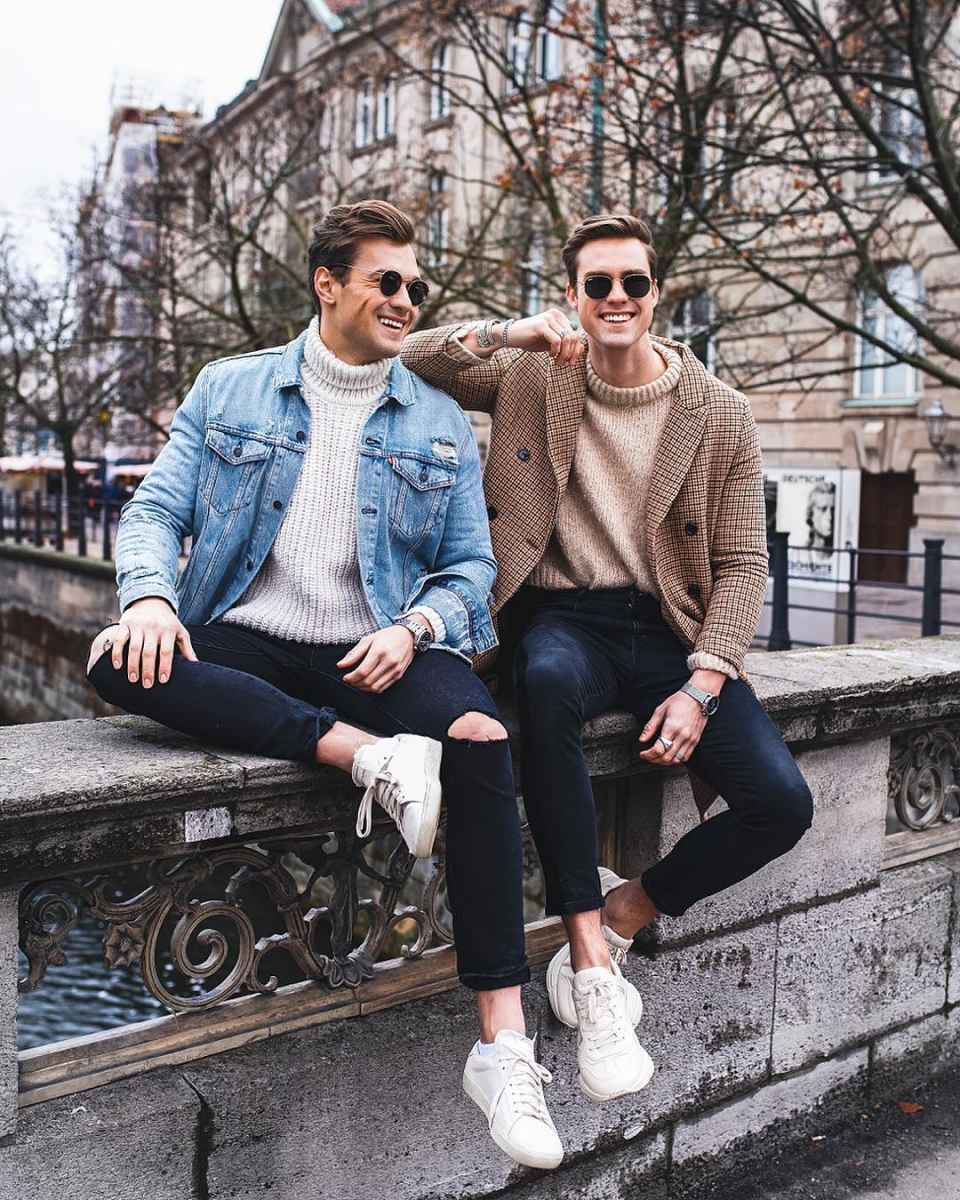 С чем носить джинсовую куртку мужчинам фото_28