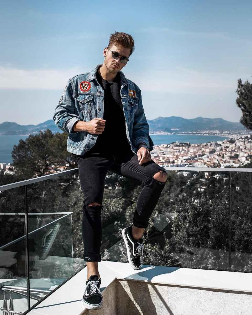С чем носить джинсовую куртку мужчинам фото_23