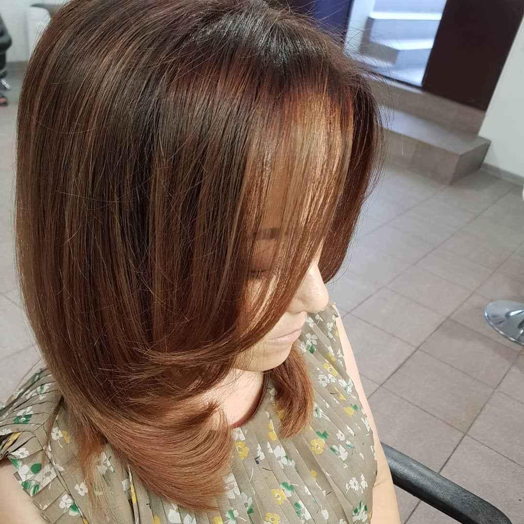Стрижка рапсодия на средние волосы: вид сбоку фото_2