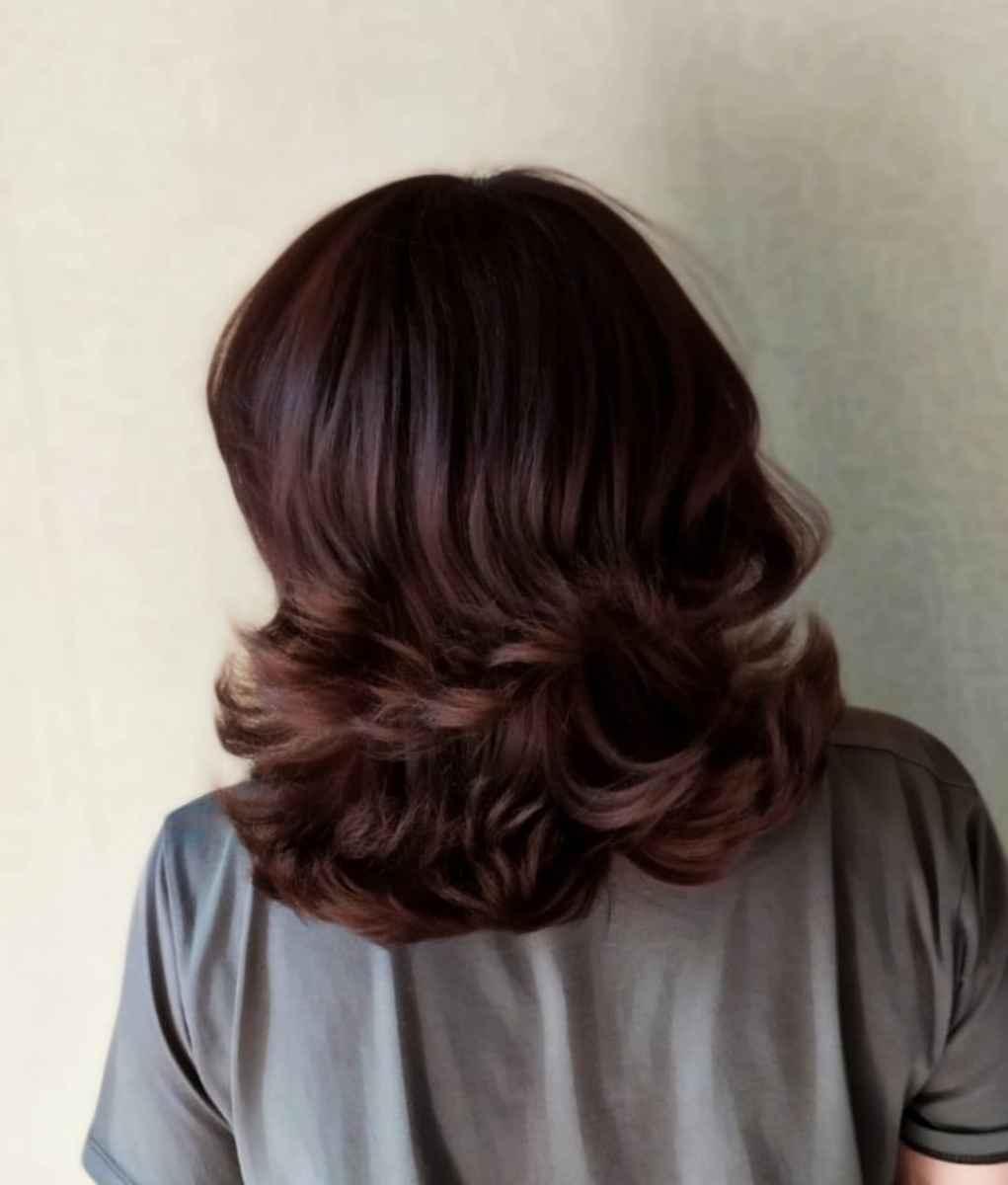 Стрижка рапсодия на средние волосы: вид сзади фото_2