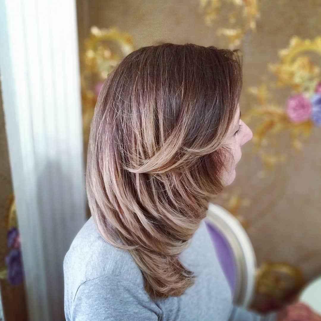 Стрижка рапсодия на средние волосы: вид сбоку фото_3