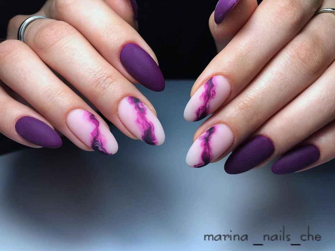 Фиолетовый френч с рисунком фото_2