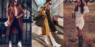 С чем носить казаки 2019-2020 фото