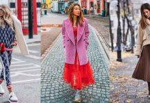 С чем носить пальто-пиджак фото идеи