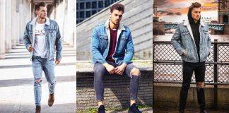 С чем носить джинсовую куртку мужчинам фото
