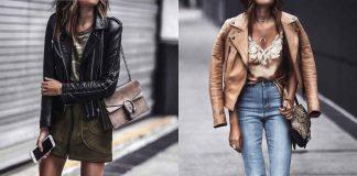 С чем носить кожаную куртку фото