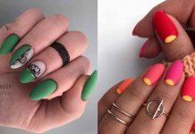 Необычный френч на ногтях фото идеи
