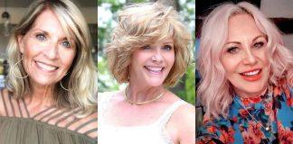 5 лучших стрижек на средние волосы для женщин 50 лет