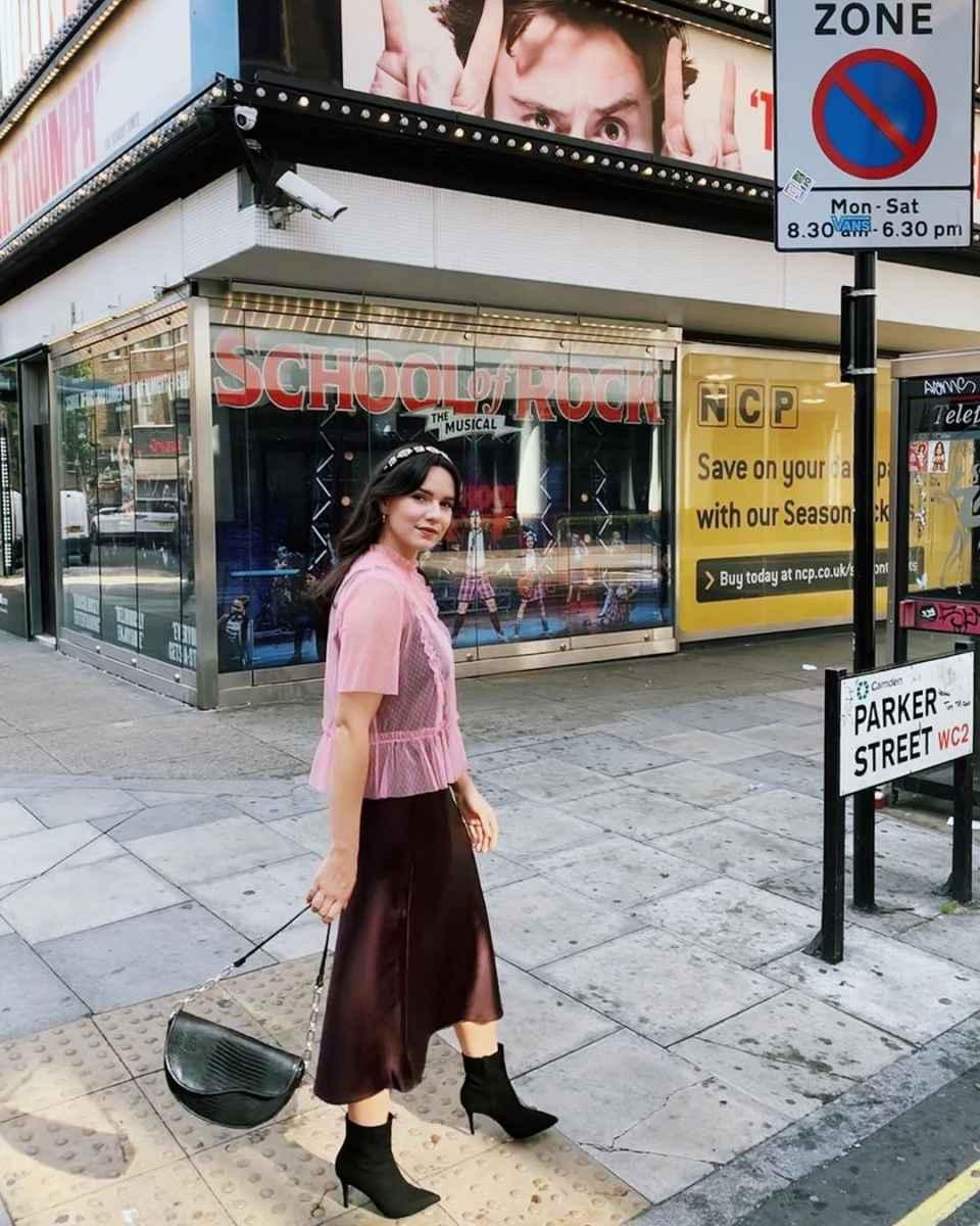 Шелковая юбка 2020 фото_11