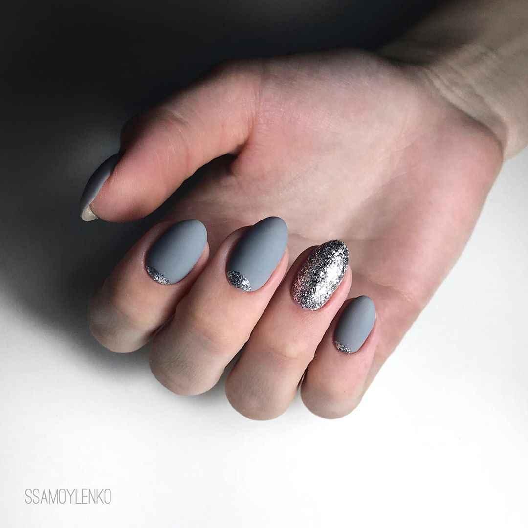 Серый френч фото_45