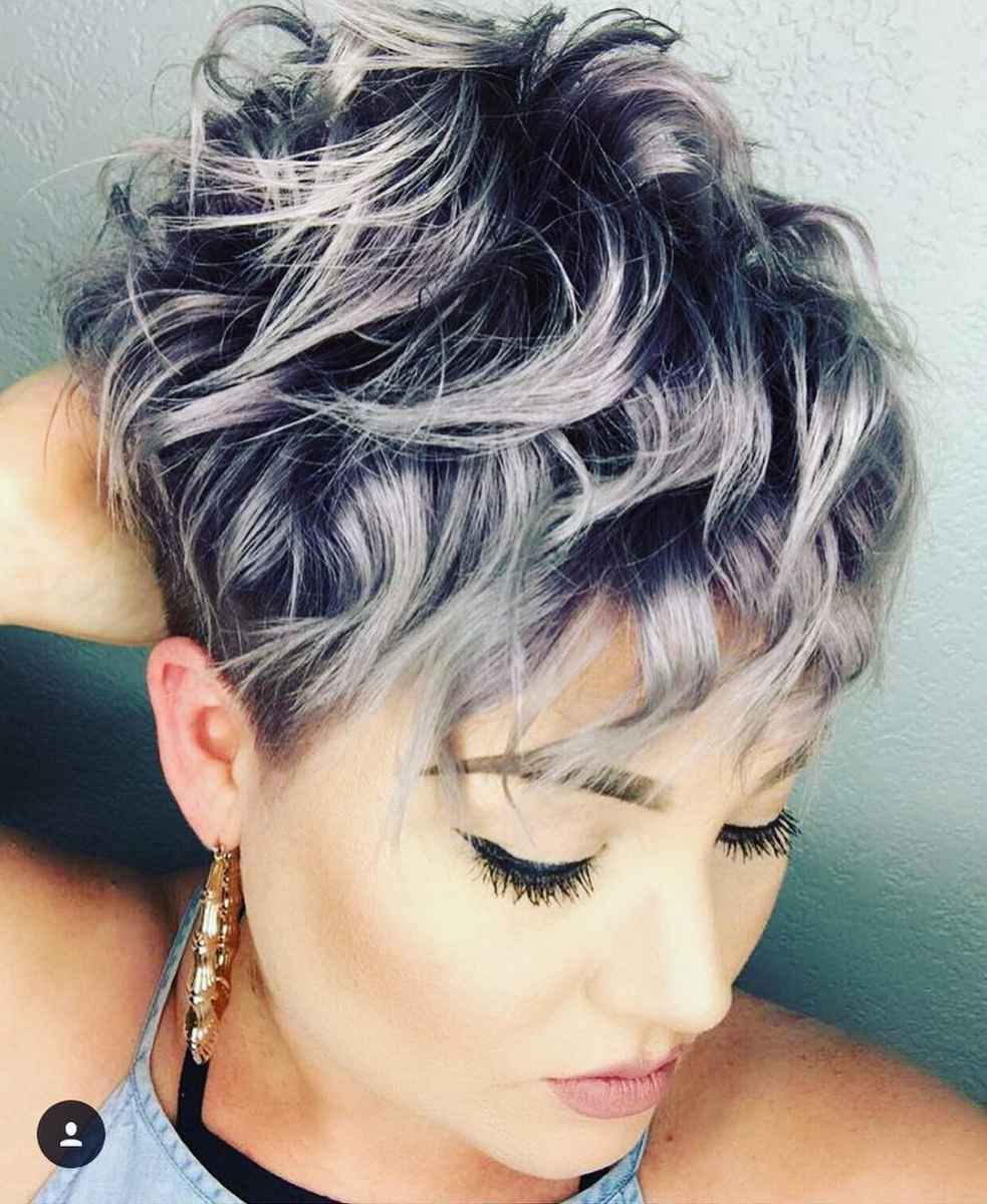 Стрижка пикси на кудрявые и волнистые волосы фото_14