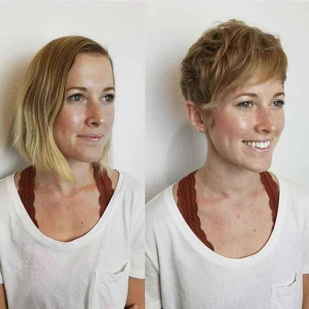 стильные короткие стрижки для женщин 50-60 лет фото_4