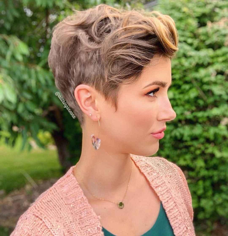 Стрижка пикси на кудрявые и волнистые волосы фото_3