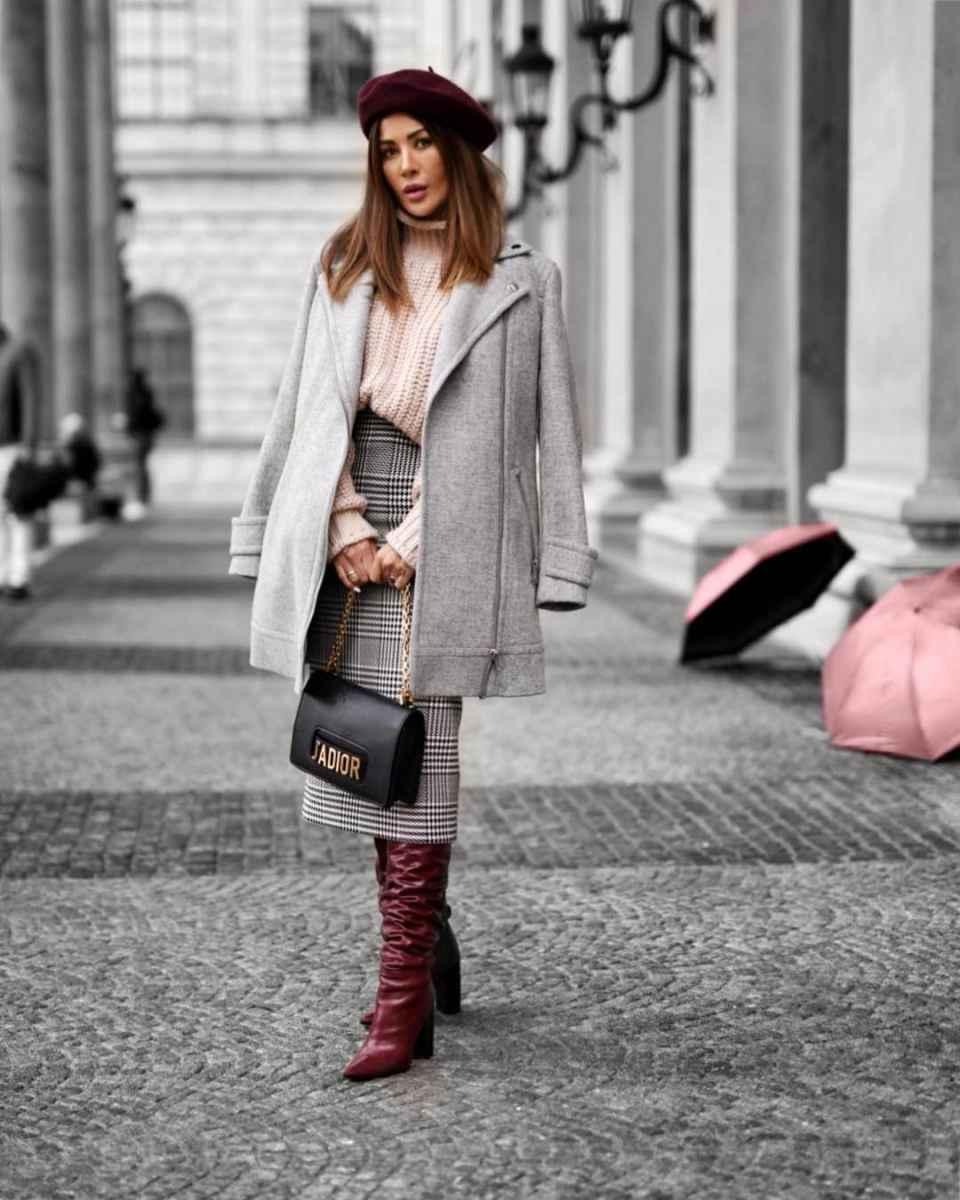 С чем носить пальто-пиджак фото_8