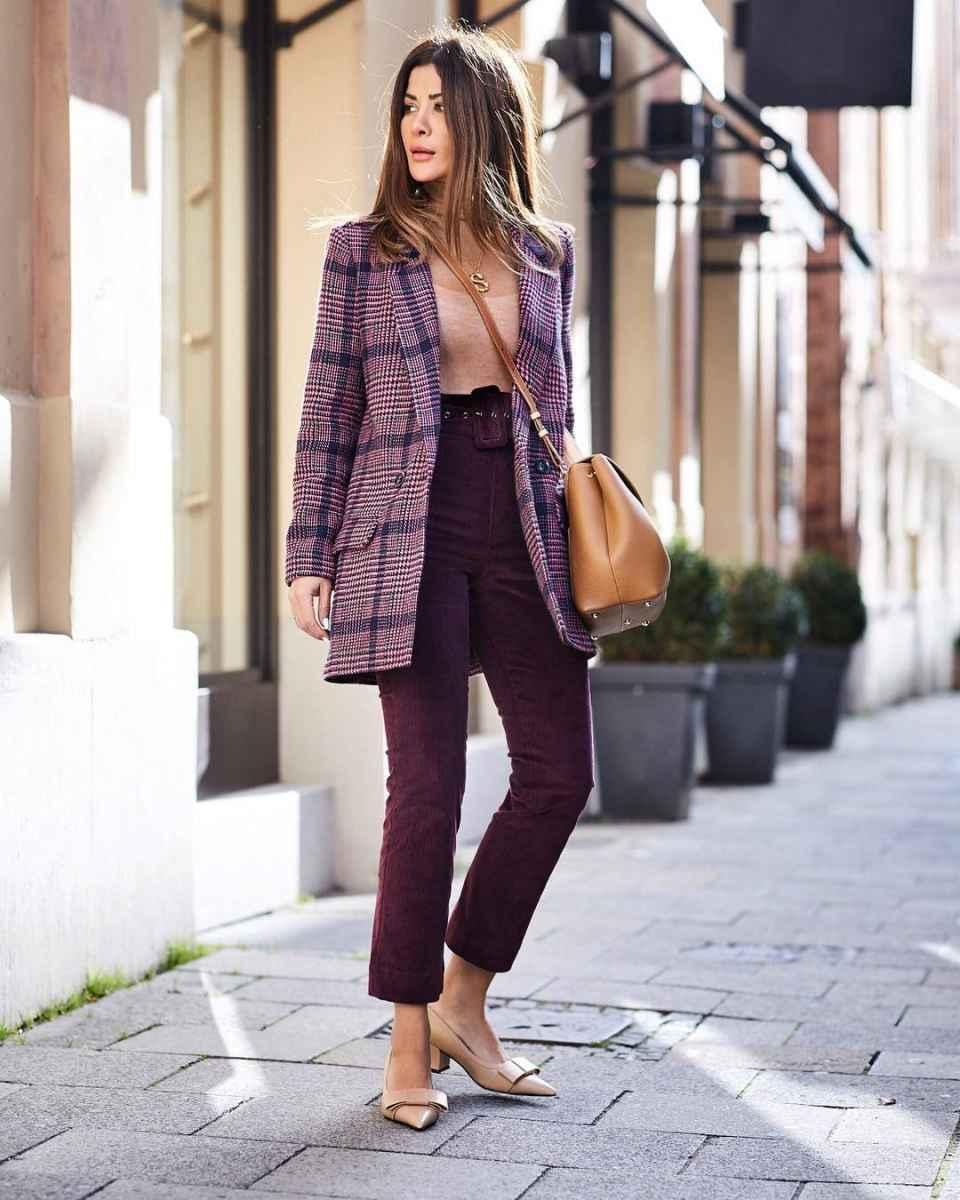 С чем носить пальто-пиджак фото_7