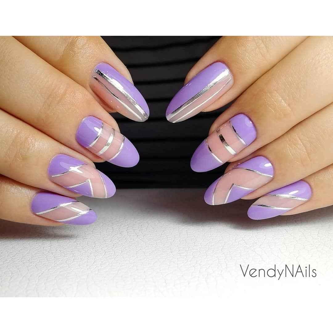 Фиолетовый френч с рисунком фото_7