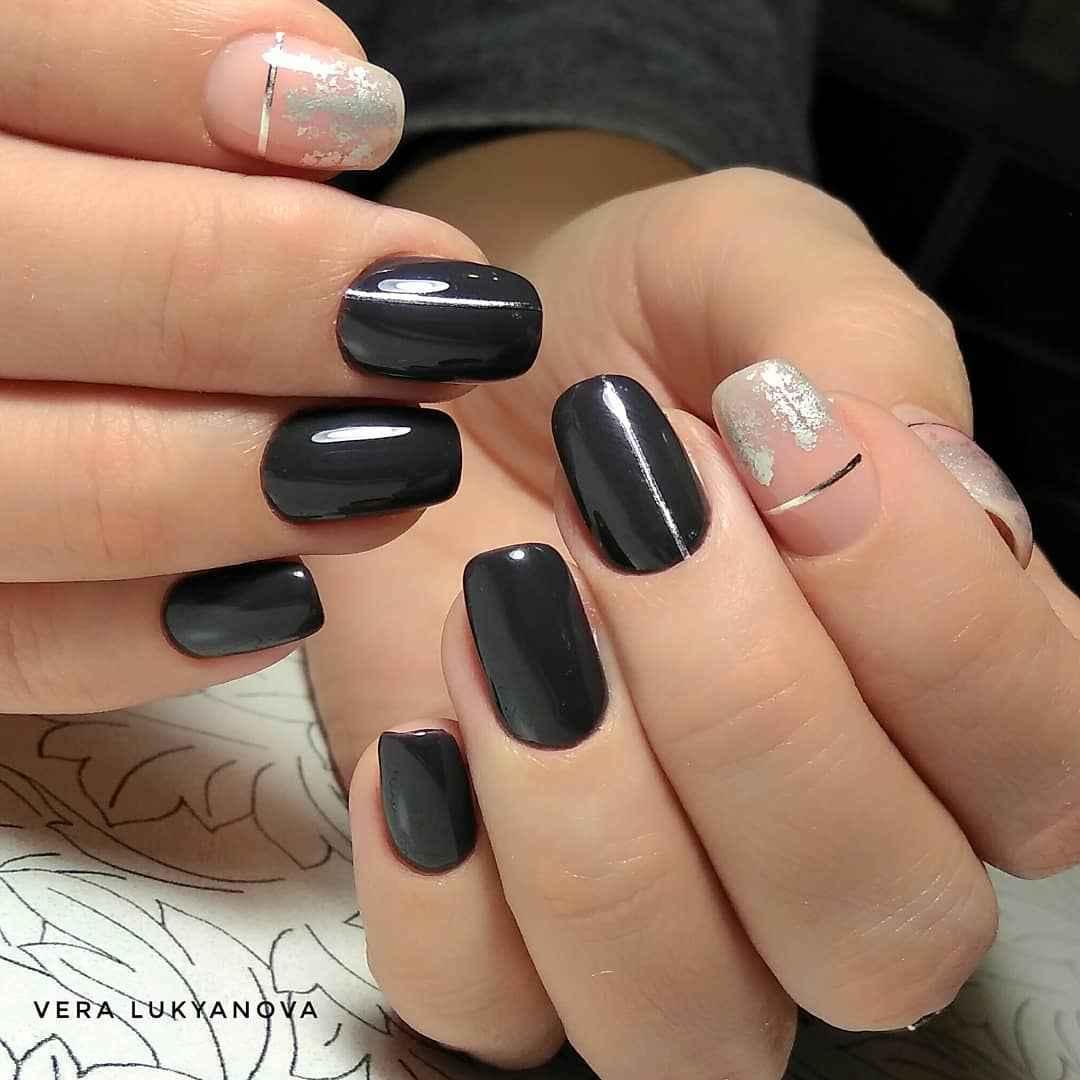 Серый френч фото_33