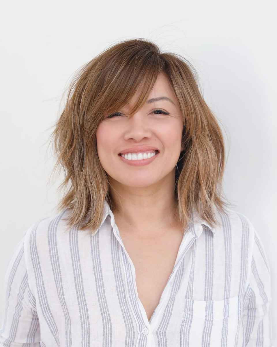 стрижки, которые подходят тонким волосам возрастных женщин фото_1