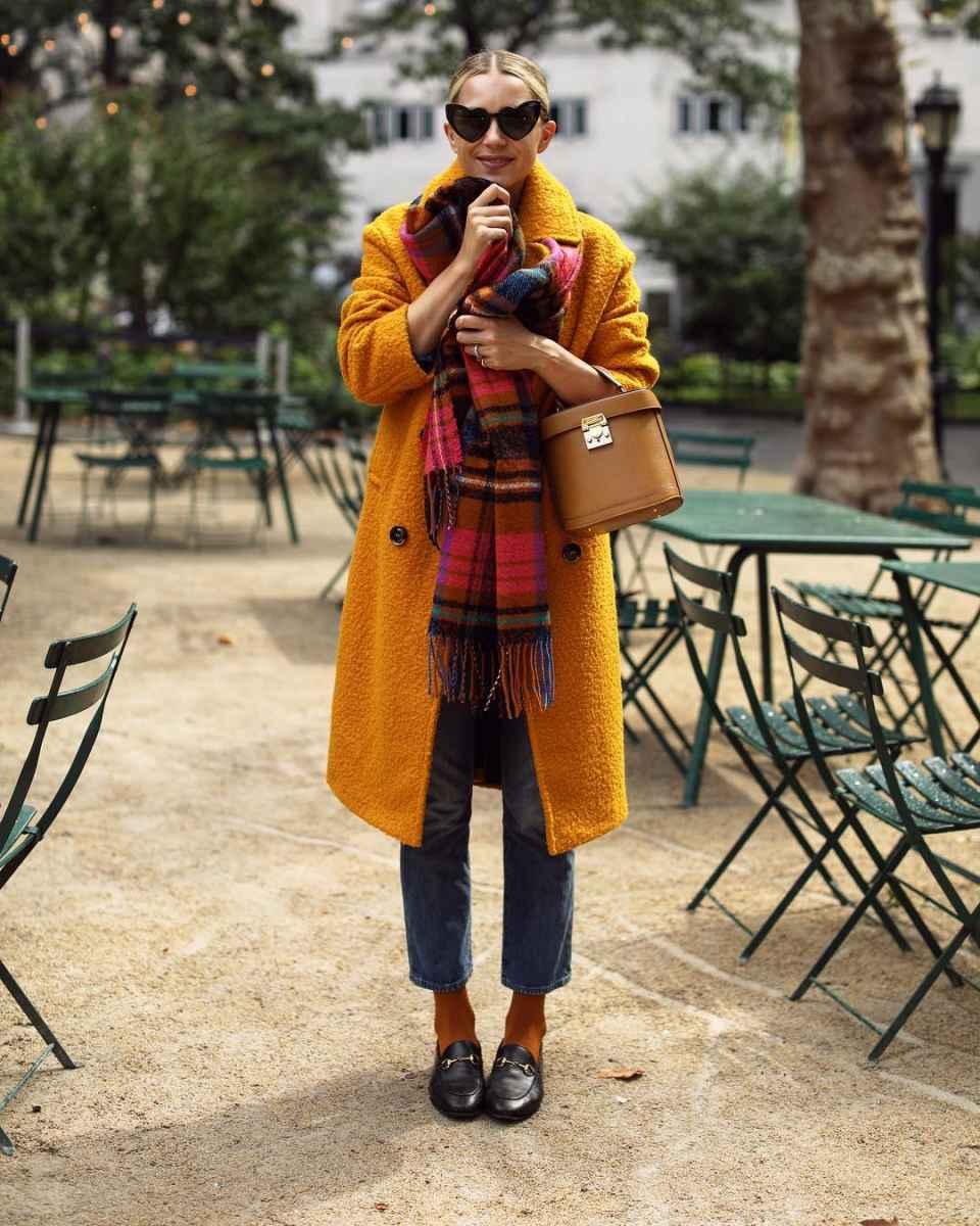 как носить шарф зимой фото_34