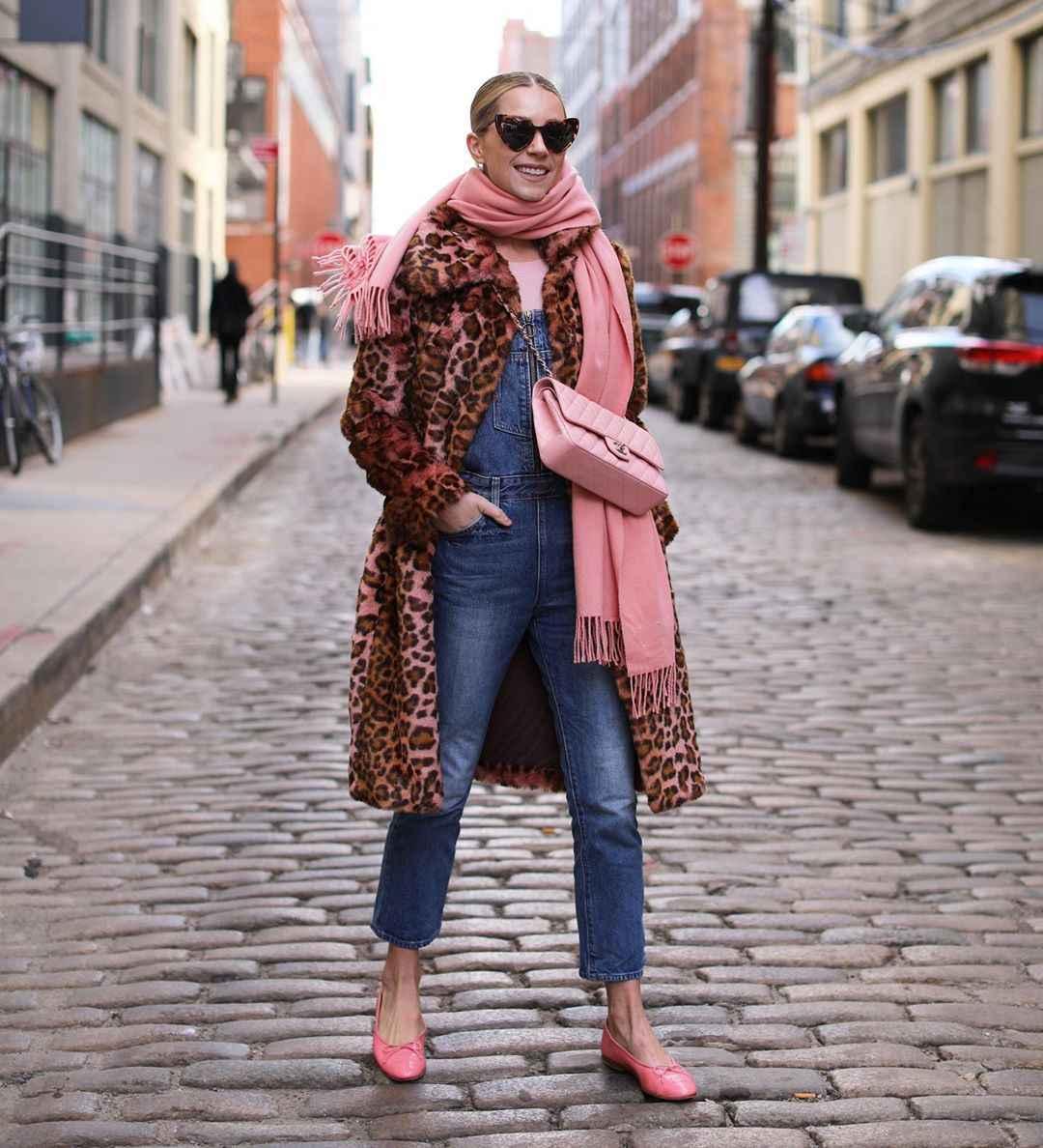 как носить шарф зимой фото_28