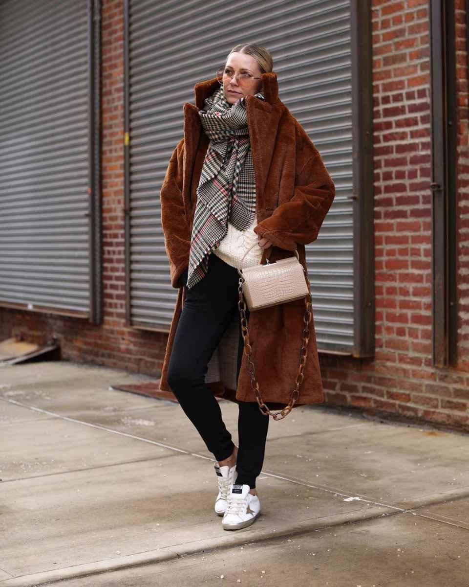 как носить шарф зимой фото_27