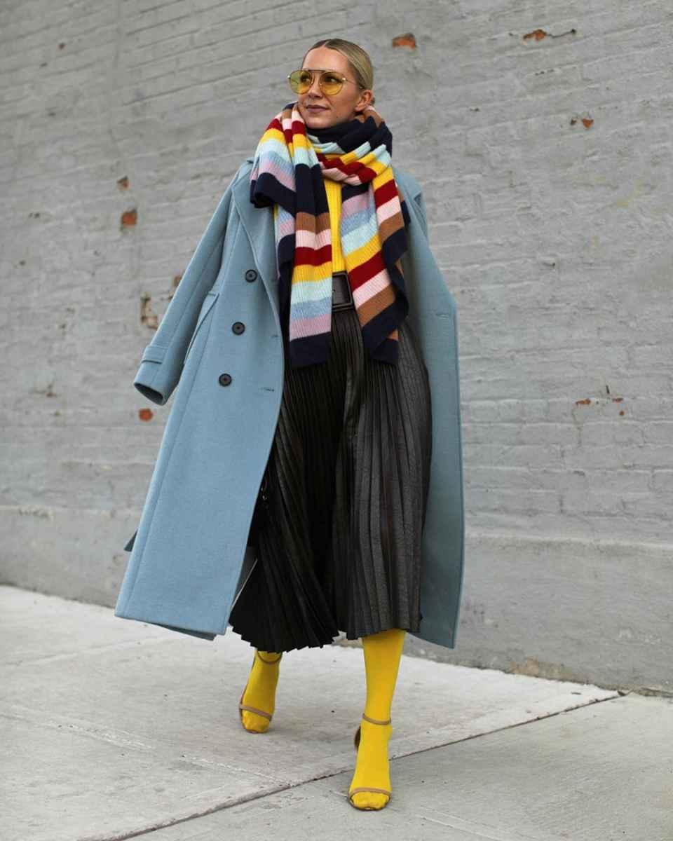 как носить шарф зимой фото_26
