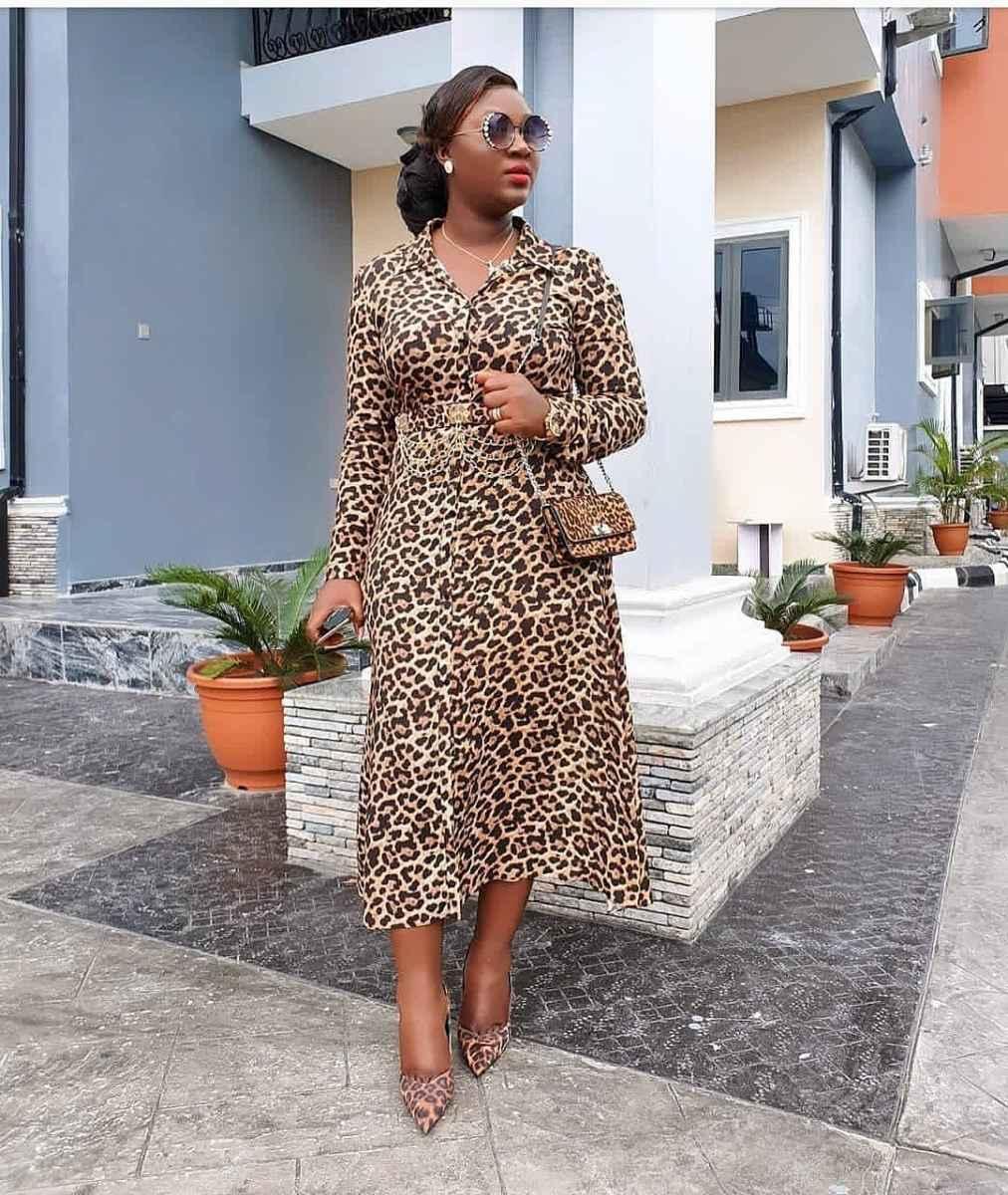 С чем носить леопардовые туфли и балетки фото_16