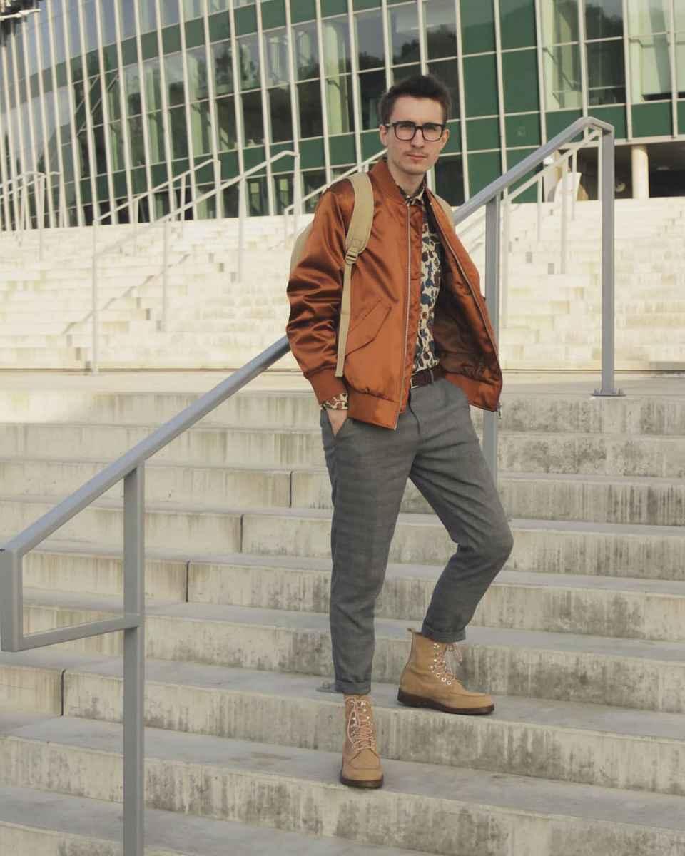 С чем носить брюки в серую клетку мужчине фото_6