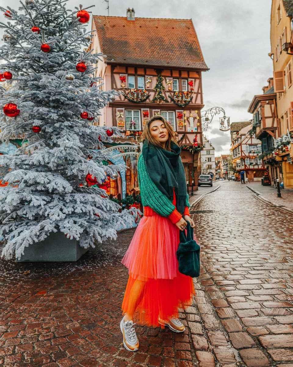 как носить шарф зимой фото_37