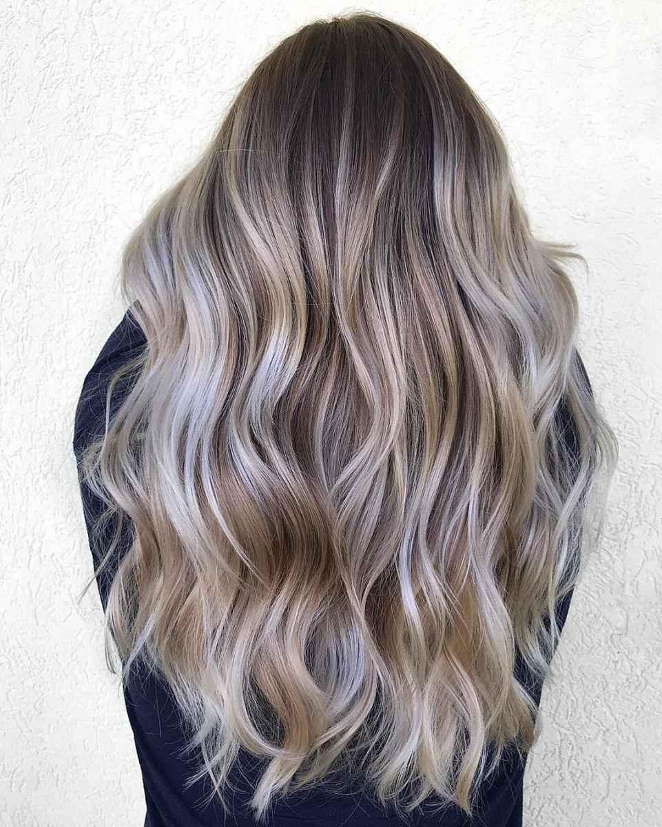 Модные цвета волос зимы 2020 фото_14