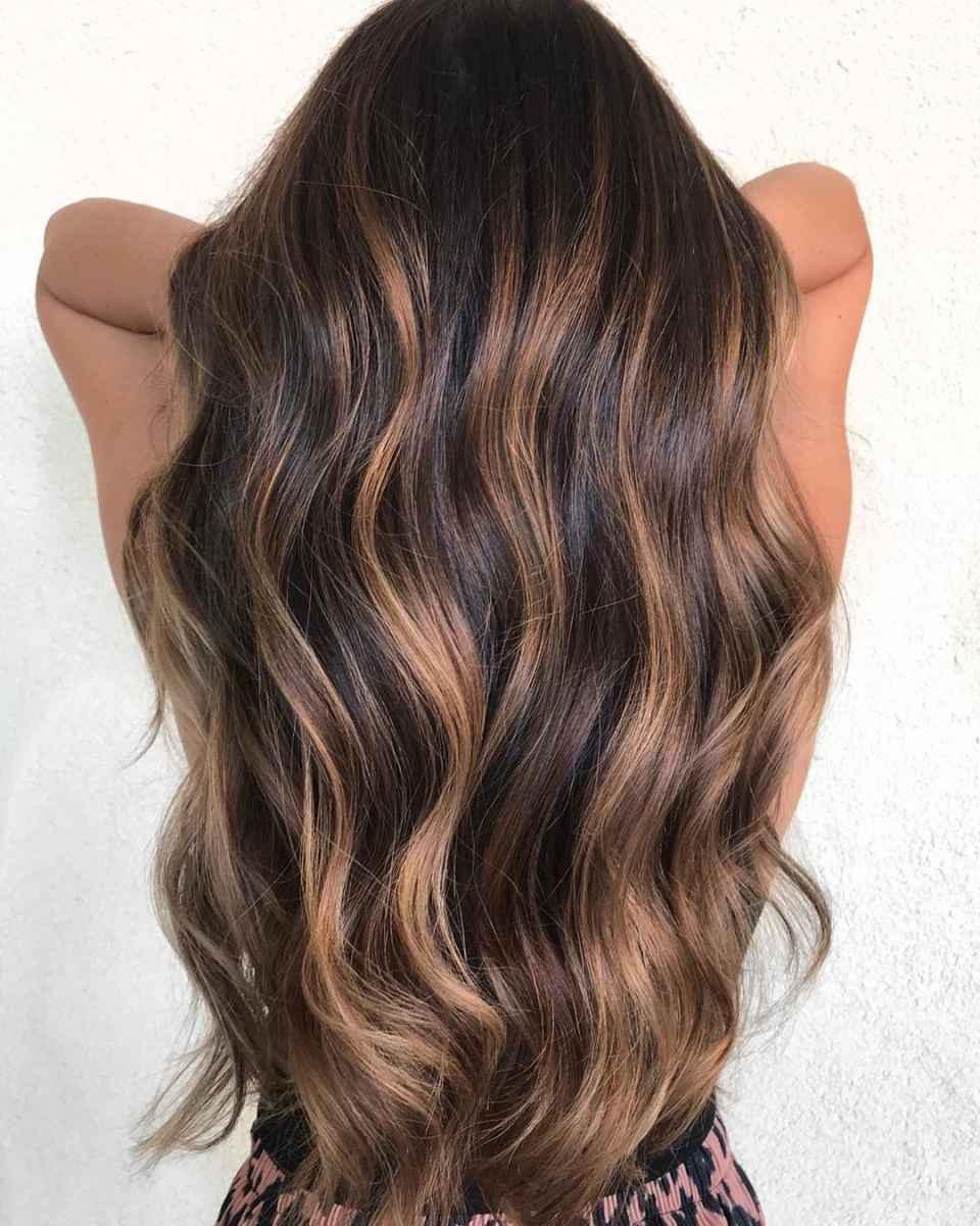 Модные цвета волос зимы 2020 фото_15
