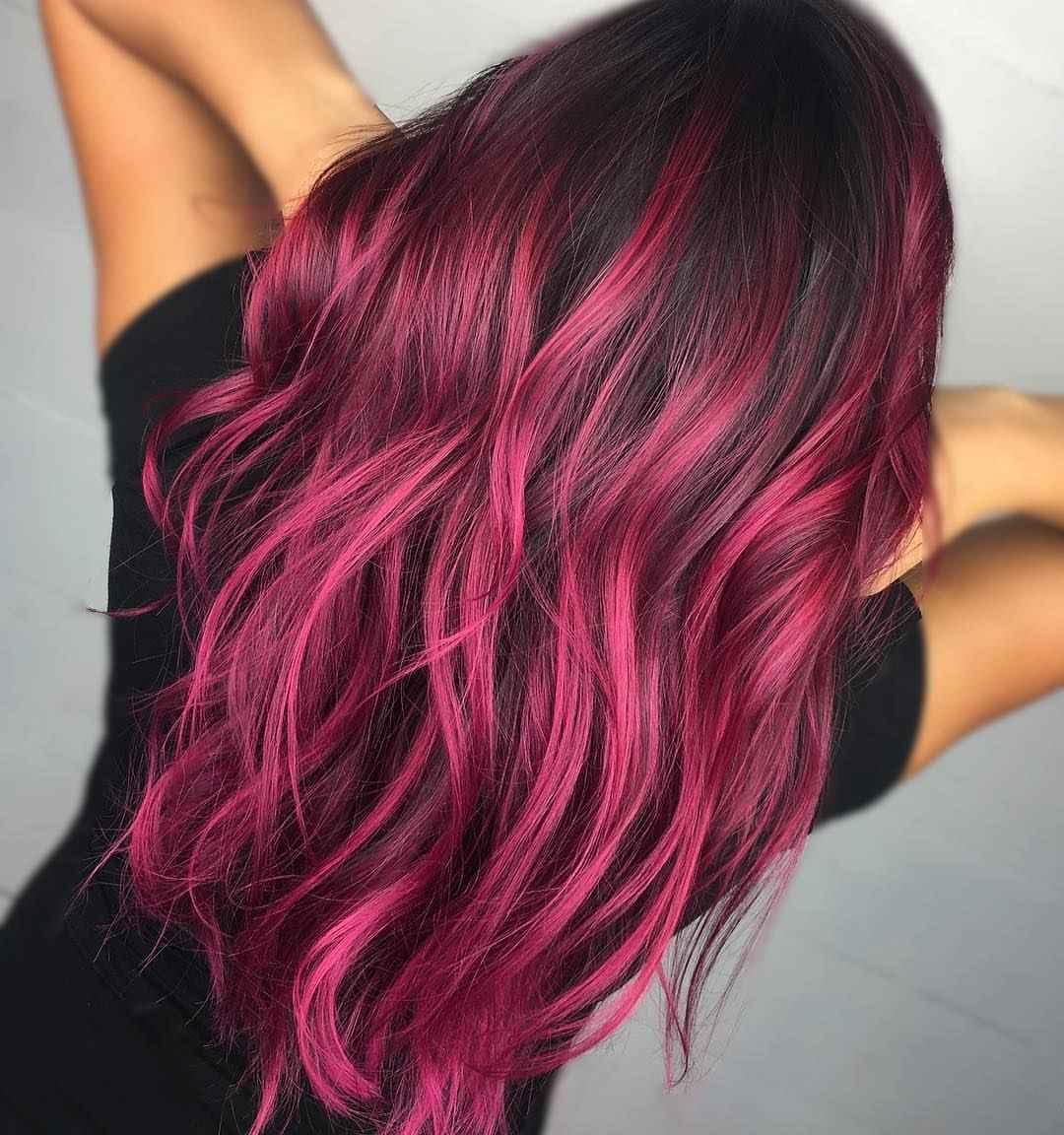 Модные цвета волос зимы 2020 фото_3