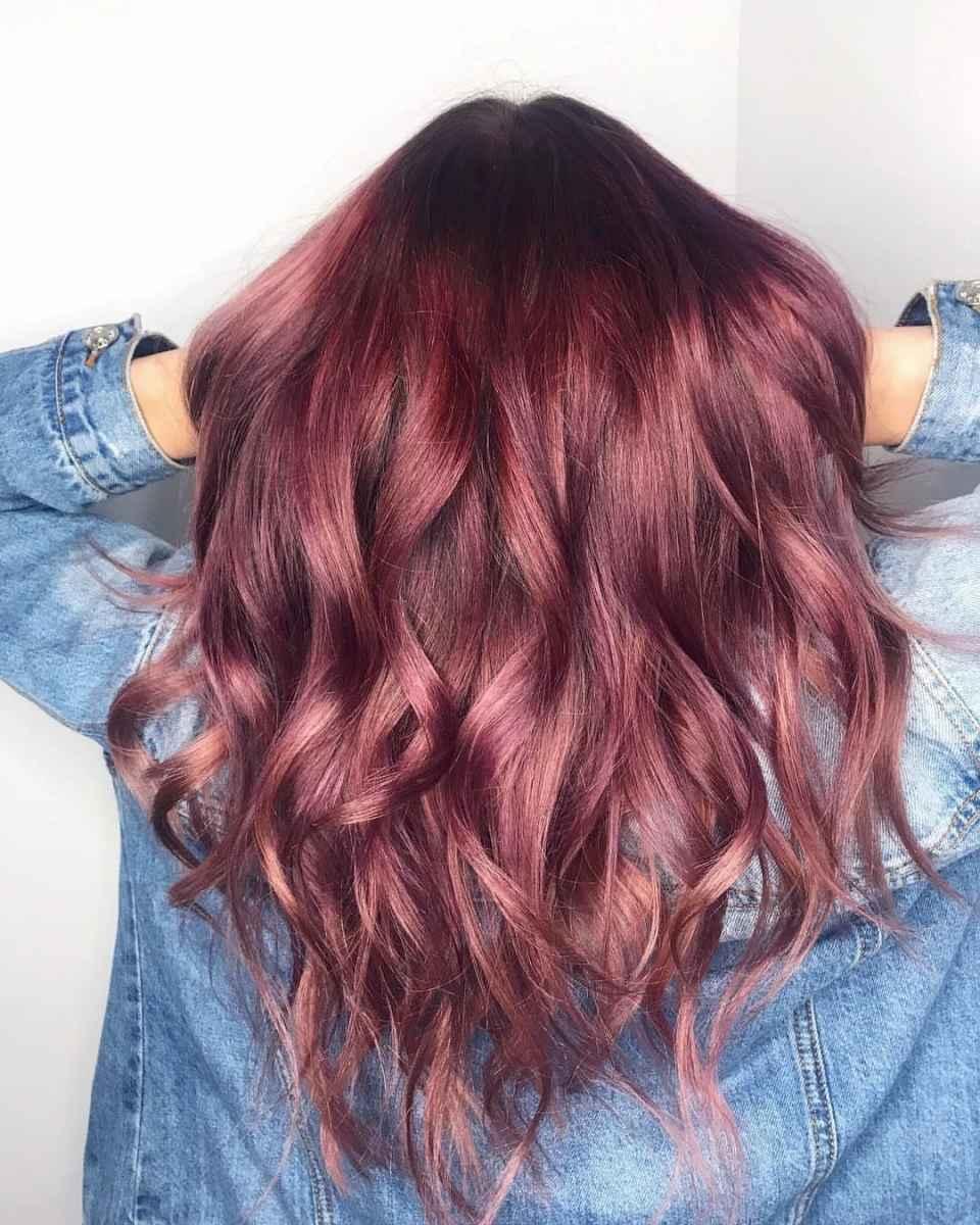 Модные цвета волос зимы 2020 фото_4