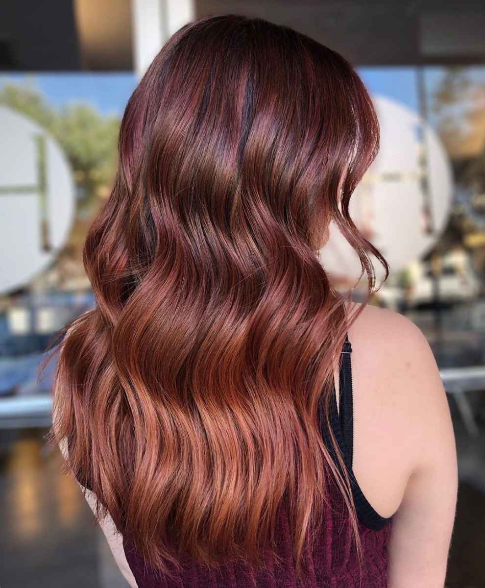 Модные цвета волос зимы 2020 фото_5