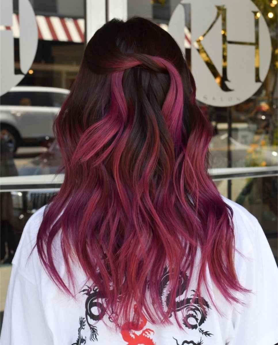 Модные цвета волос зимы 2020 фото_6