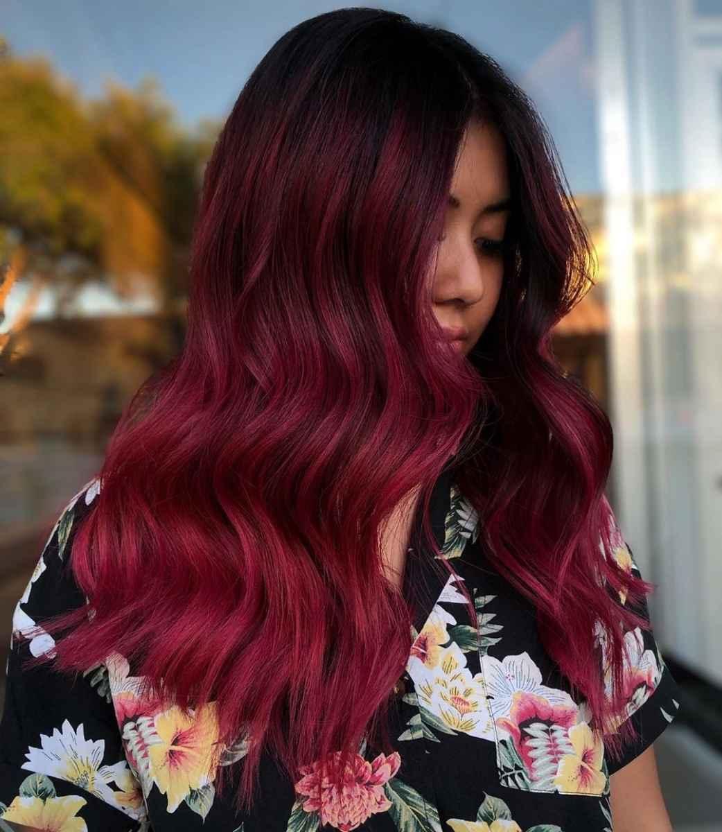 Модные цвета волос зимы 2020 фото_7
