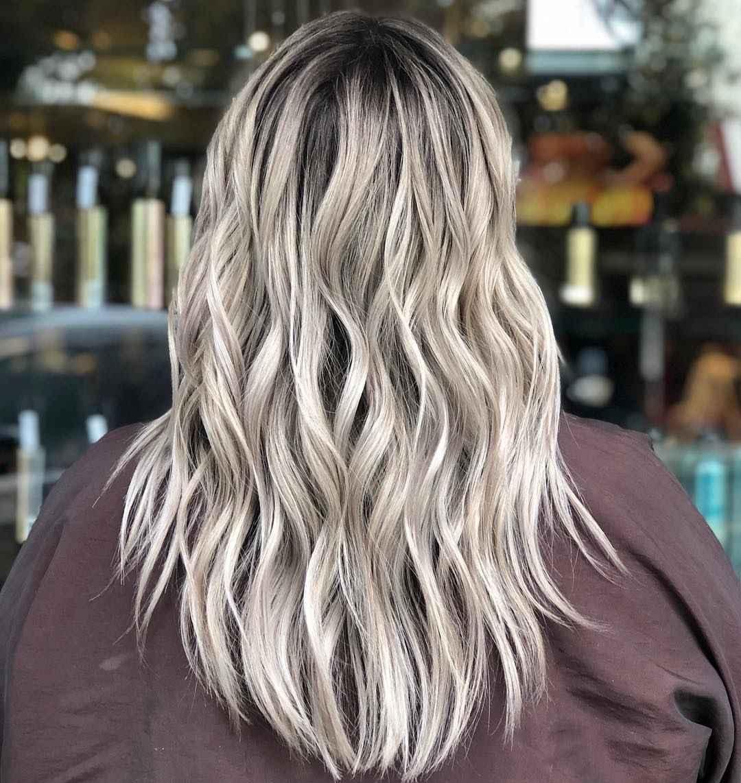 Модные цвета волос зимы 2020 фото_21