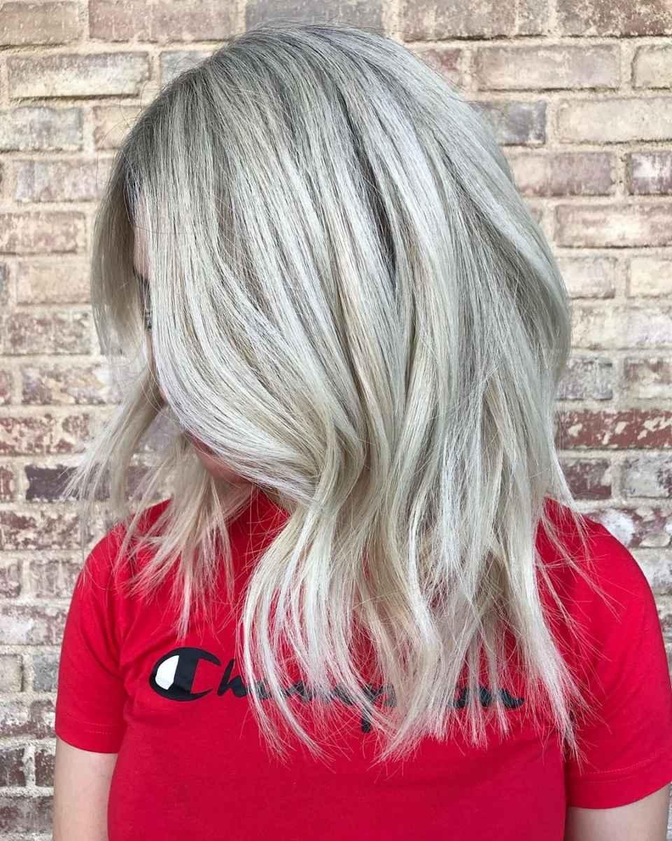 Модные цвета волос зимы 2020 фото_22