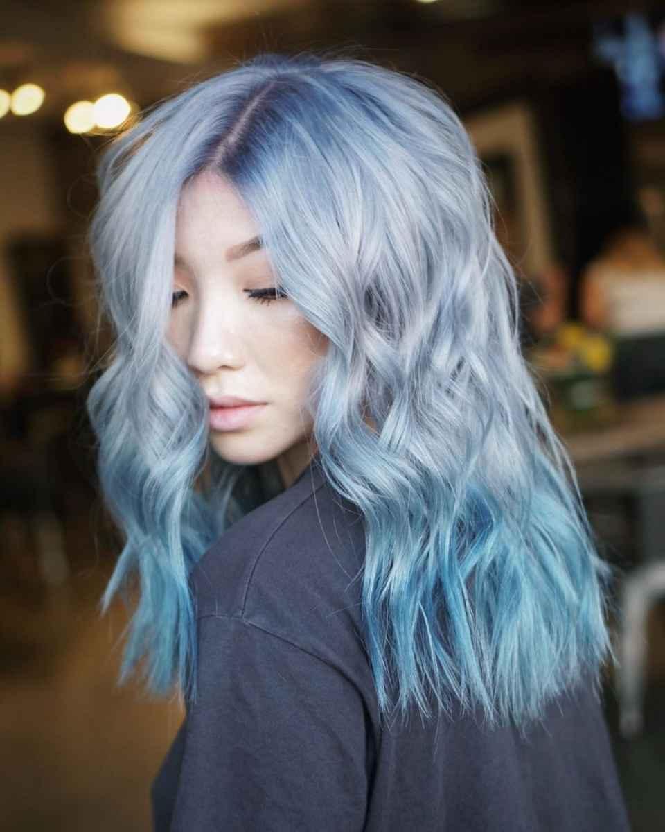 Модные цвета волос зимы 2020 фото_1