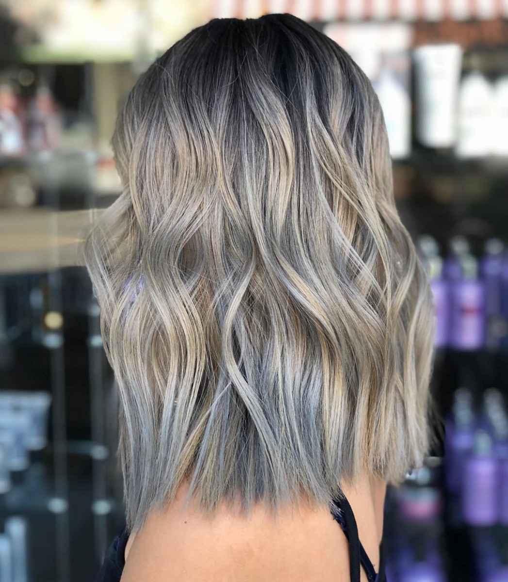 Модные цвета волос зимы 2020 фото_23