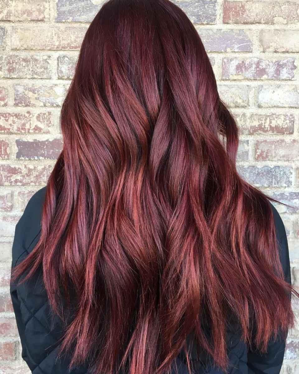 Модные цвета волос зимы 2020 фото_9