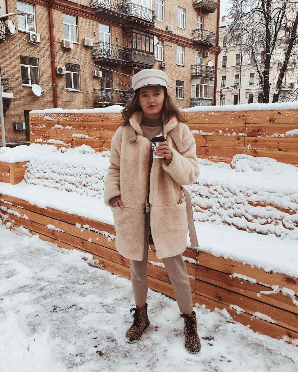 Зимние луки 2019-2020 для женщин фото_53