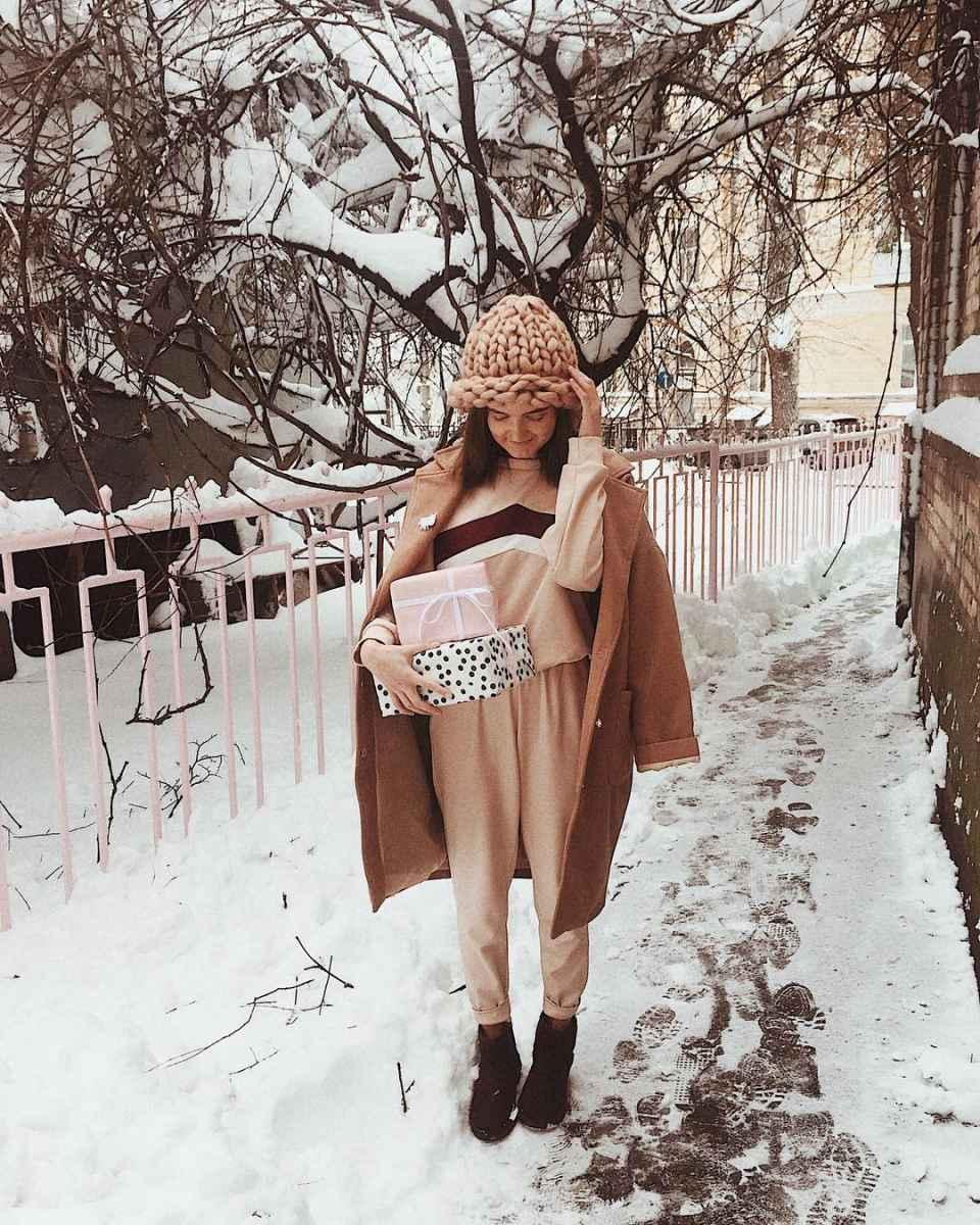Зимние луки 2019-2020 для женщин фото_52